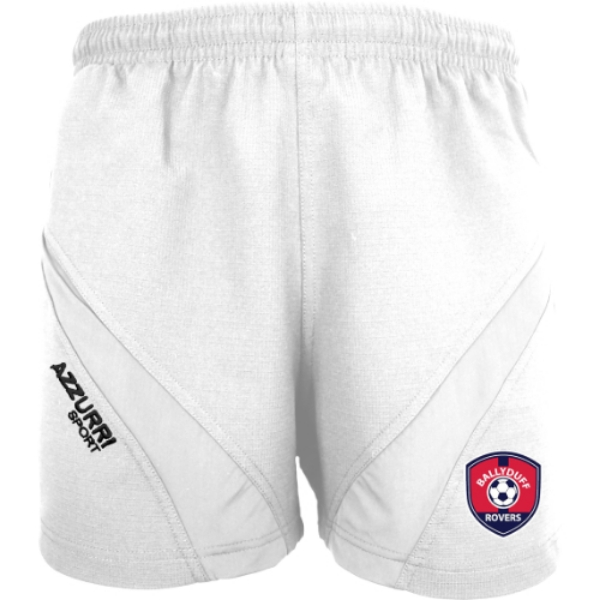 Picture of Ballyduff Rovers Gym Shorts White-White