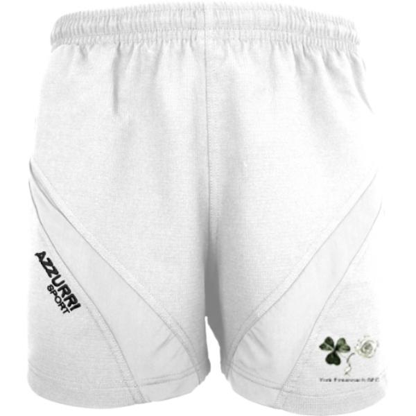 Picture of York Eireannach  Gym Shorts White-White
