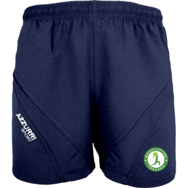 Picture of Weightlifting Ireland Gym Shorts Navy-Navy