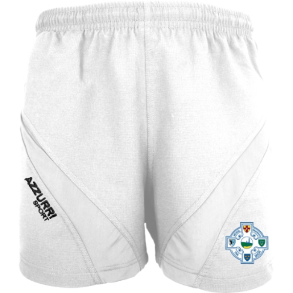 Picture of Tramore Camogie Gym Shorts White-White
