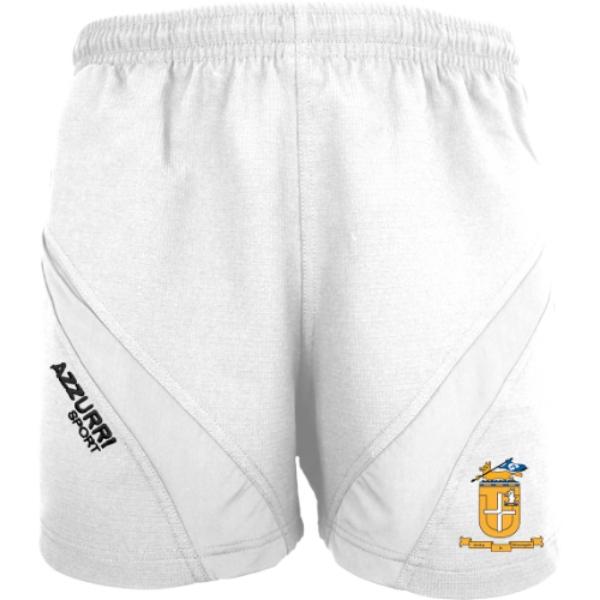 Picture of Glenamaddy GAA Gym Shorts White-White