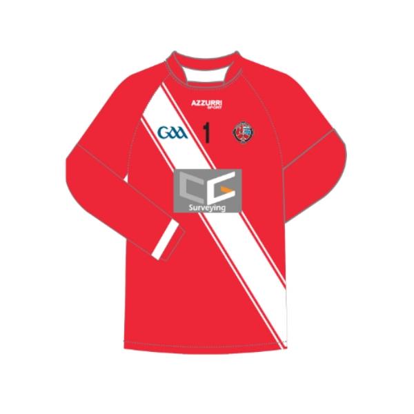 Picture of Valleymount GAA Long Sleeve Jersey Kids Custom