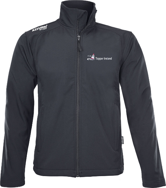 Picture of Topper Ireland Soft Shell Jacket Black
