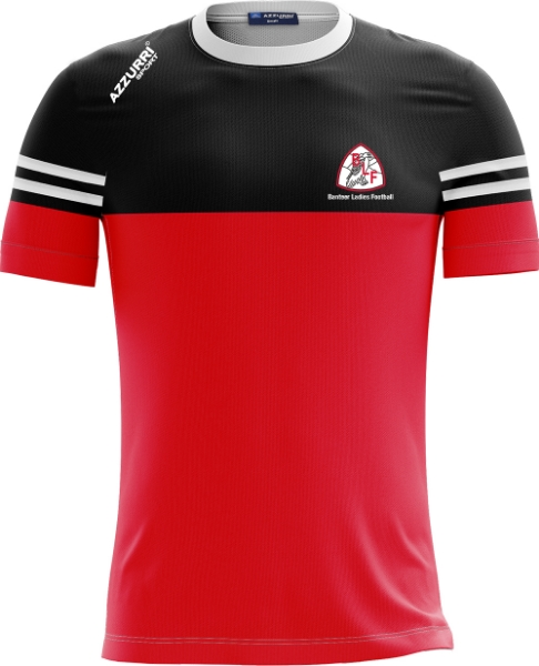 Picture of Banteer LGFA Skryne T-Shirt Red-Black-White