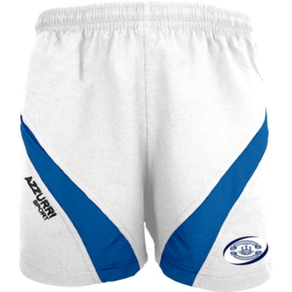 Picture of Bandon RFC Gym Shorts -White Royal White-Royal