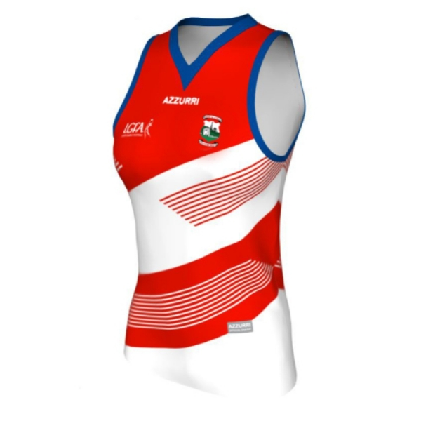 Picture of Aghamore LGFA Sleeveless Jersey Custom