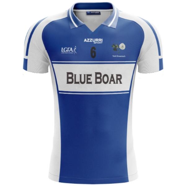 Picture of LGFA Jersey Blue Boar Kids Custom