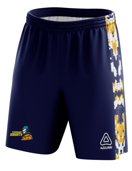 Picture of Tipperary Knights BasketBall Ladies Shorts Kids Custom