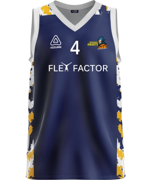 Picture of Tipperary Knights basketball Ladies Singlet Kids Custom