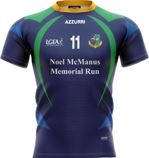 Picture of Keeldra Gaels Noel Macmanus Players LGFA Jersey Kids Custom