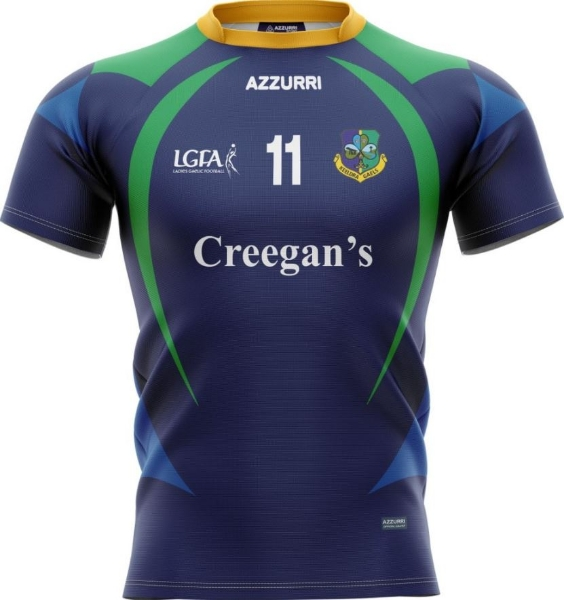 Picture of Keeldra Gaels Creegans Players LGFA Jersey Kids Custom