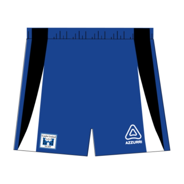 Picture of Castle United AFC Soccer Shorts Kids Custom