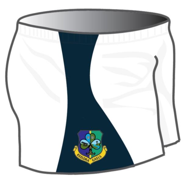Picture of Keeldra Gaels GAA Shorts Kids Custom