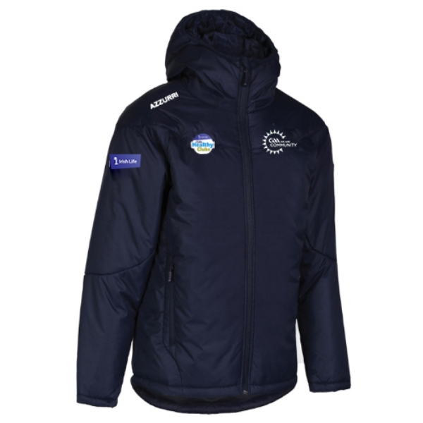 Picture of Healthy Clubs Thermal Jacket Navy