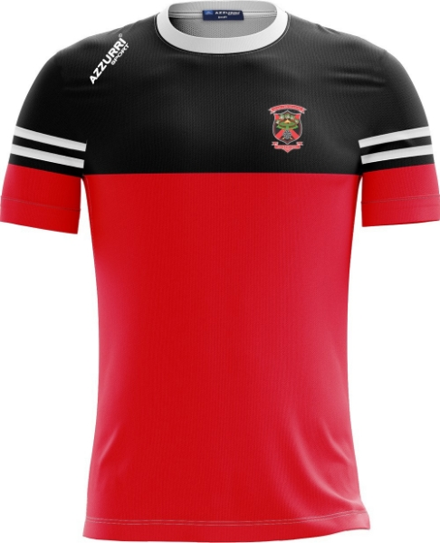 Picture of OLD CHRISTIANS KIDS SKRYNE TEE Red-Black-White