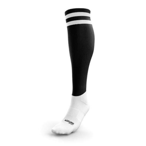 Picture of maynooth gaa kids socks Black-White