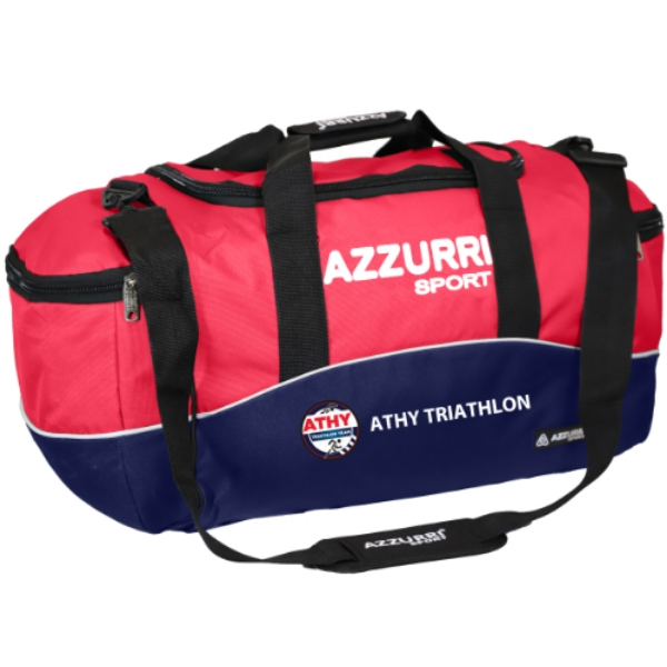 Picture of athy triathlon kitbag Navy-Red-White