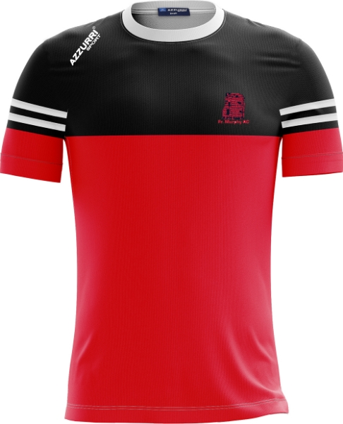 Picture of fr murphy ac skryne tee Red-Black-White