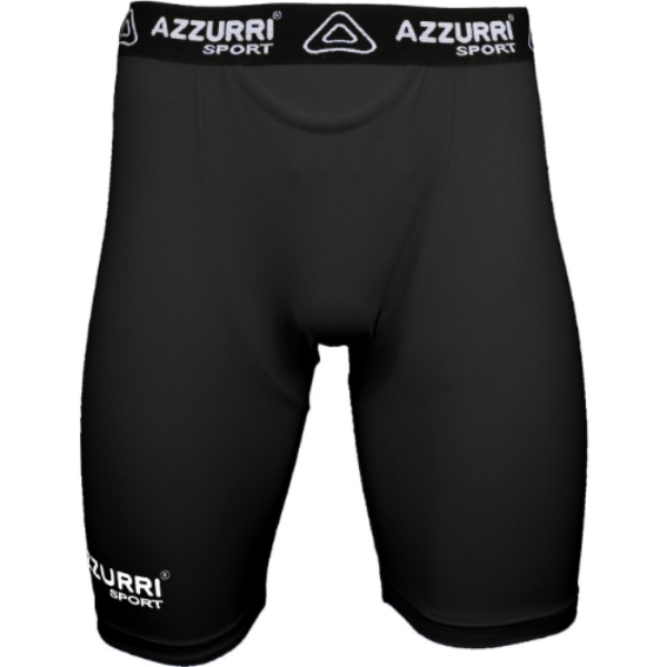 Picture of black base layer shorts Black