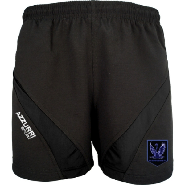 Picture of Eli Swanderers Training Shorts Black-Black