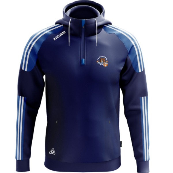 Picture of Waterford Wildcats Hoodie Navy-Royal-White