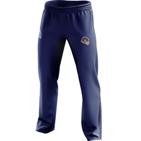 Picture of Waterford Wildcats kids tracksuit ends Navy