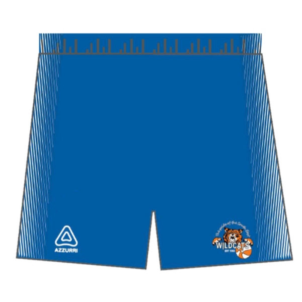 Picture of Waterford Wildcats Basketball Shorts Royal-White