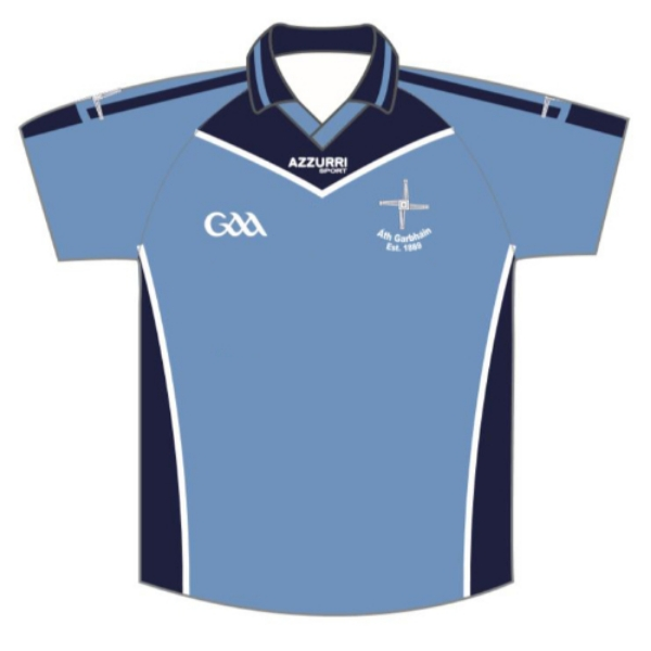 Picture of Athgarvan GAA Jersey Sky-navy-white