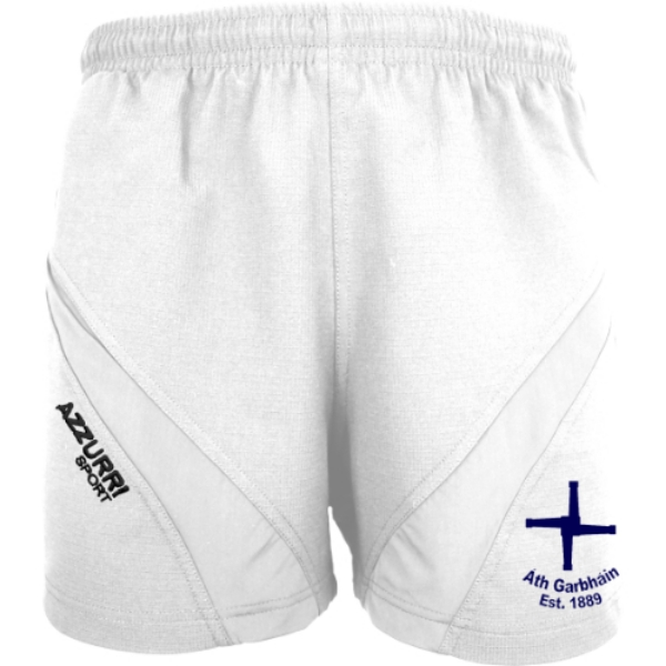Picture of Athgarvan GAA training shorts White-White