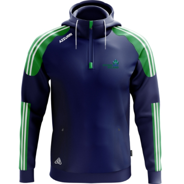 Picture of Diving Ireland Brooklyn hoodie Navy-Emerald-White