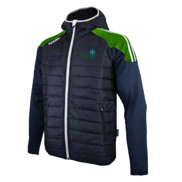 Picture of Diving Ireland Holland Jacket Navy-Emerald-White