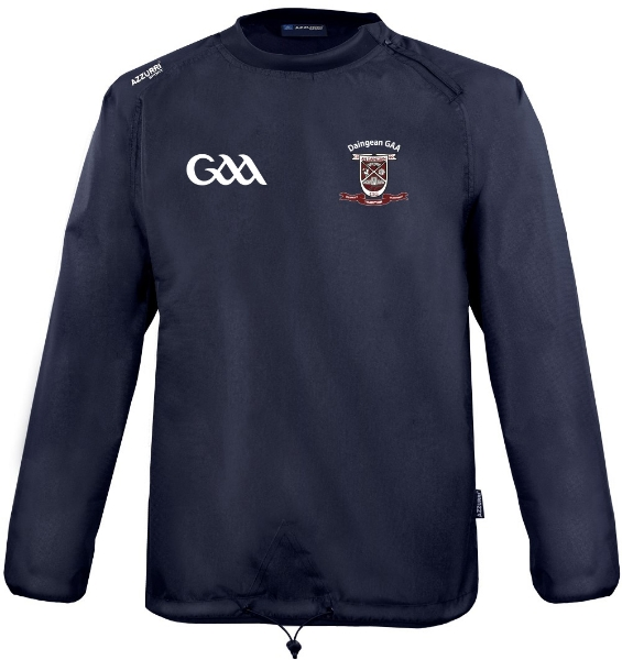 Picture of Daingean GAA Kids Rugger windbreaker Navy