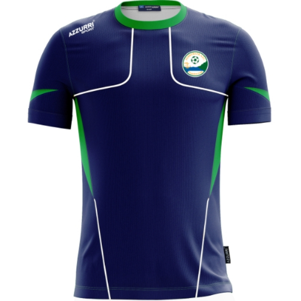 Picture of ferrybank afc t-shirt Navy-Emerald-White