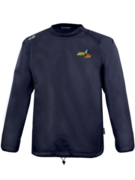 Picture of WC120 windcheater-Text Rugger-Kids Navy