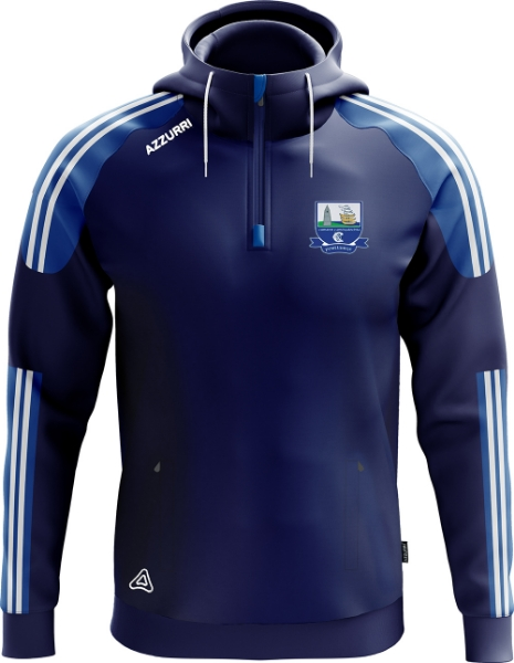 Picture of waterford camogie kids hoodie Navy-Royal-White