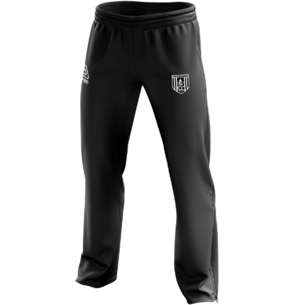 Picture of dunmore town afc kids tracksuit ends Black
