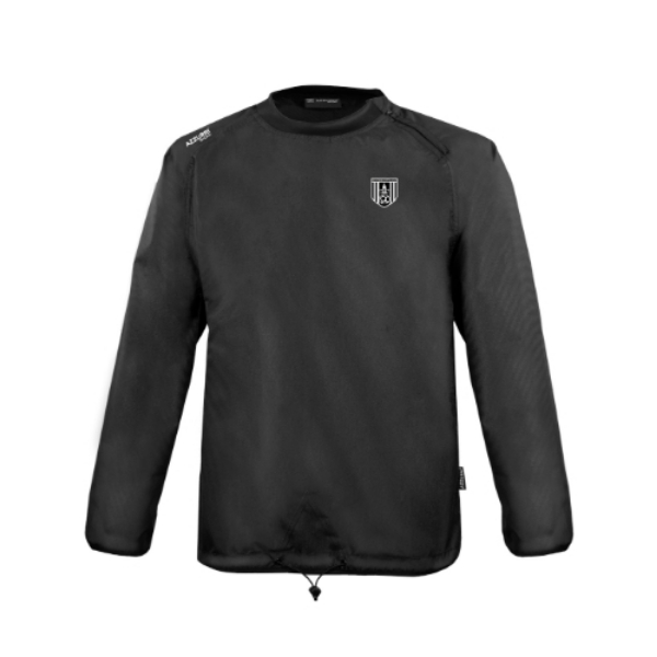 Picture of Dunmore Town AFC rugger windbreaker Black