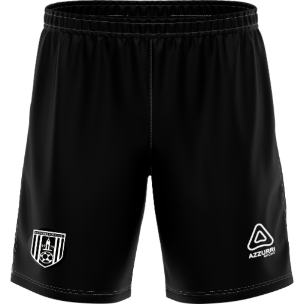 Picture of dunmore town afc kids shorts Black