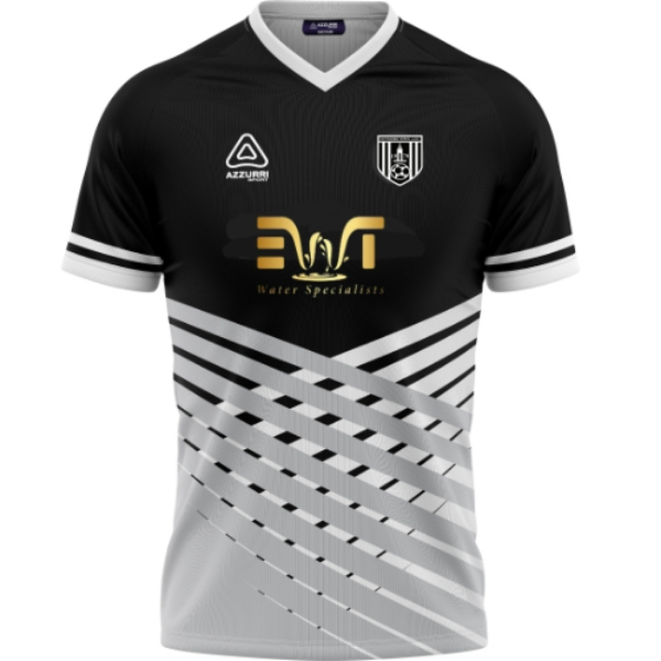 Picture of Dunmore Town AFC jersey Black-White