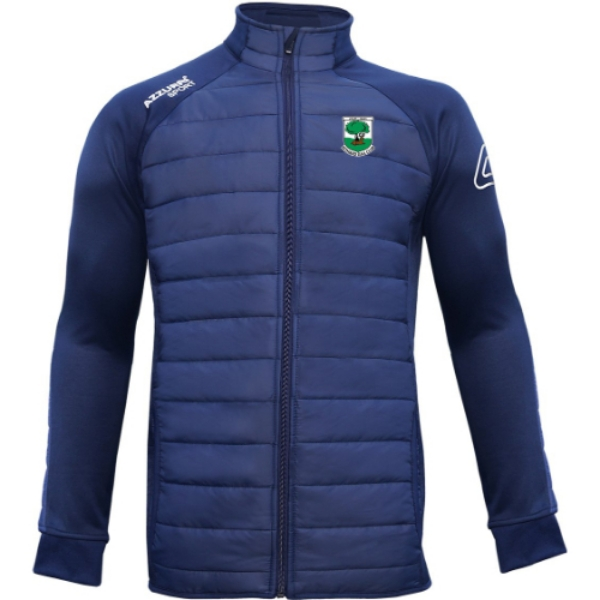 Picture of fethard gaa adults padded jacket Navy-Navy