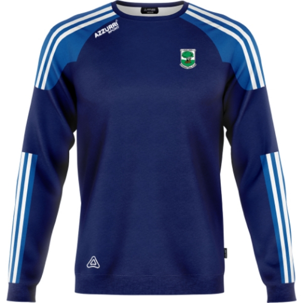 Picture of FETHARD GAA BROOKLYN CREW NECK Navy-Royal-White