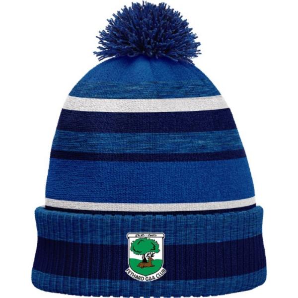 Picture of fetahrd gaa bobble hat Royal Melange-Navy-White