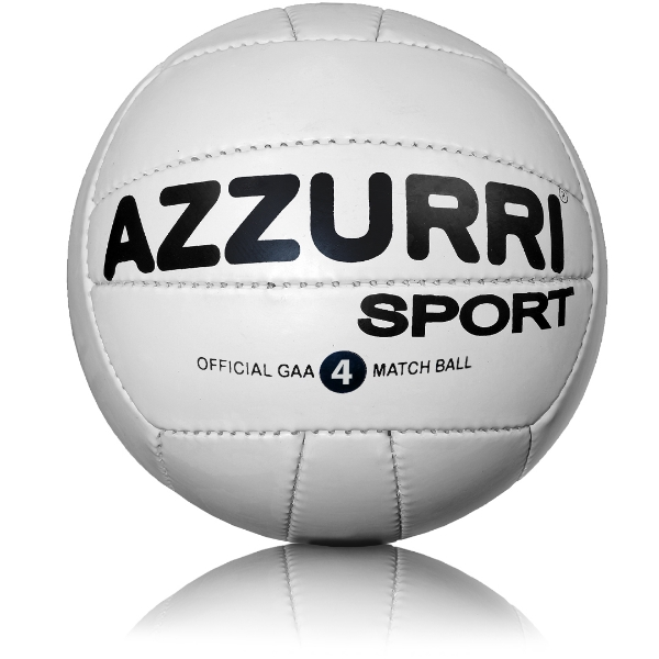 Picture of GAA Training Footballs White