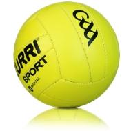 Picture of official hi vis gaa match ball Hi Vis Yellow