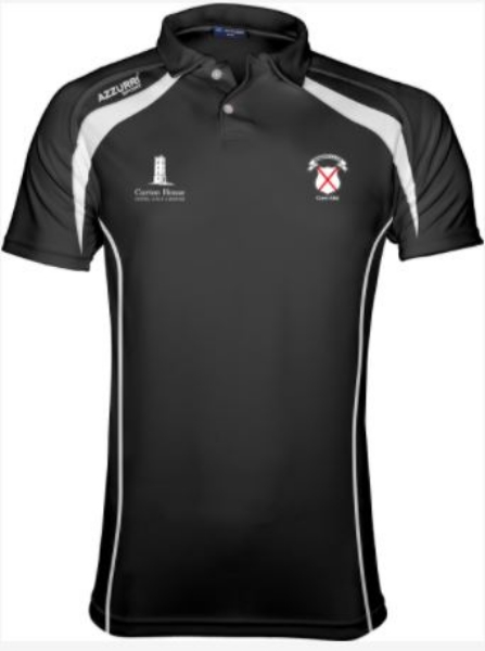 Picture of Maynooth Brosna Polo Black-White-White
