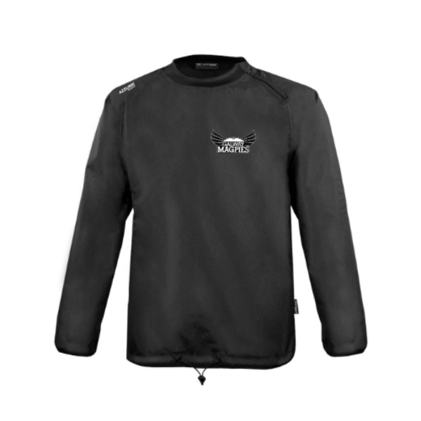 Picture of galway magpies kids rugger windbreaker Black