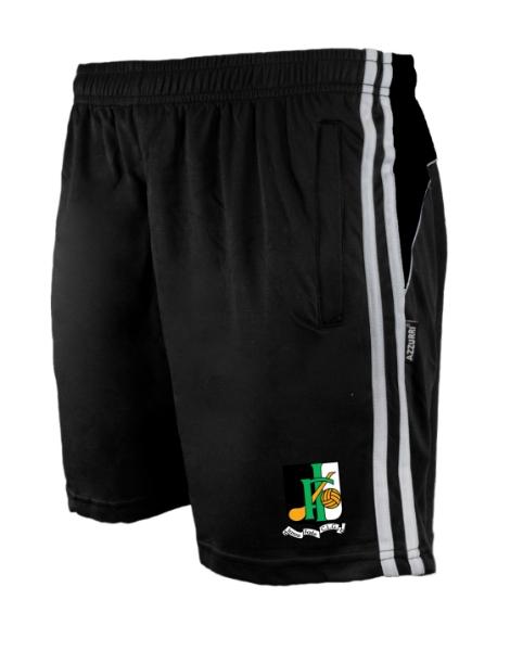 Picture of INNISFAILS GAA Brooklyn Leisure Shorts Black-Black-White