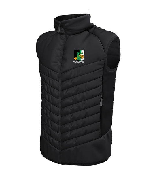 Picture of INNISFAILS GAA Apex Gilet Black