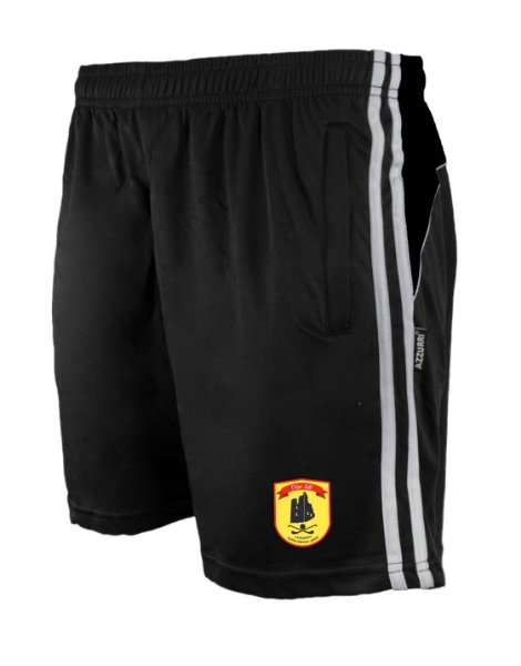 Picture of Dunhill GAA Brooklyn Leisure Shorts Black-Black-White