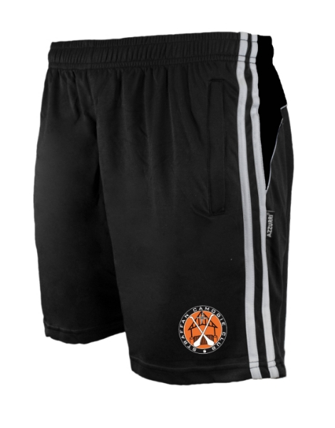 Picture of STRAFFAN CAMOGIE Brooklyn Leisure Shorts Black-Black-White